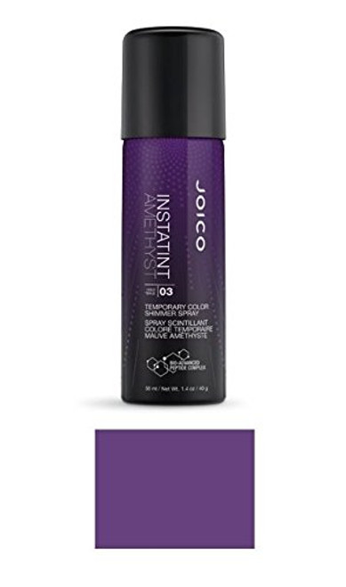 Joico InstaTint Temporary Color Shimmer Spray, 1.4 oz (w/ Sleek Steel Tail Comb)