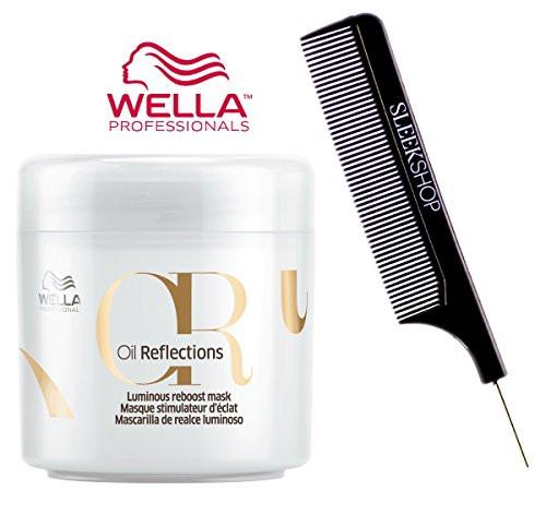 Wella OIL REFLECTIONS Luminous Reboost MASK (w/Sleek Steel Pin Tail Comb) Masque
