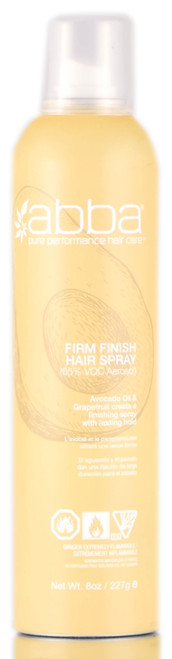 Abba Firm Finish Hair Spray (55% VOC)