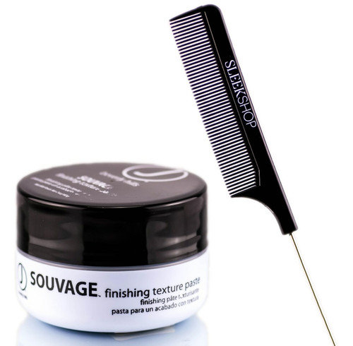 J Beverly Hills SOUVAGE Finishing Texture Paste (with Sleek Tail Comb)