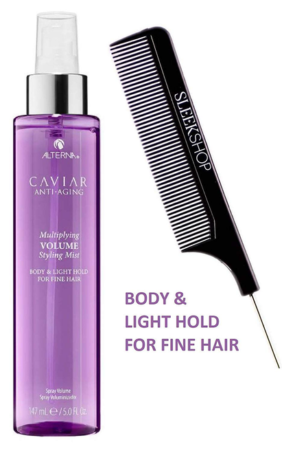 Alterna CAVIAR  MIRACLE MULTIPLYING VOLUME STYLING MIST (w/ comb) FINE HAIR