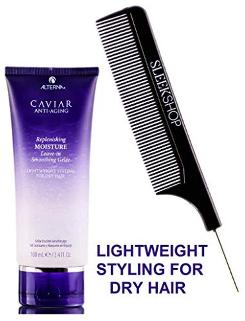 Alterna CAVIAR Anti Aging REPLENISHING MOISTURE LEAVE-IN SMOOTHING GELEE w/ COMB