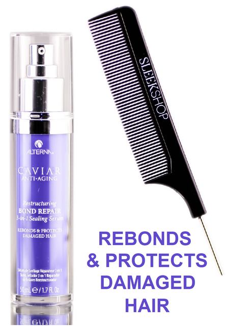 Alterna CAVIAR Anti Aging RESTRUCTURING BOND REPAIR 3-in-1 SEALING SERUM W/ COMB