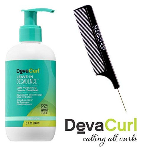 DevaCurl LEAVE-IN DECADENCE Ultra Moisturizing LEAVE IN CONDITIONER w/ COMB