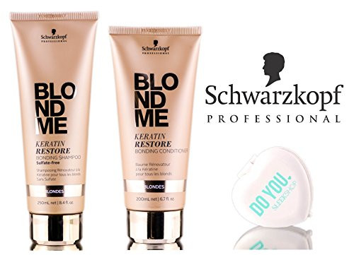 Schwarzkopf Blond Me Keratin Restore Bonding Sulfate-Free Shampoo & Conditioner