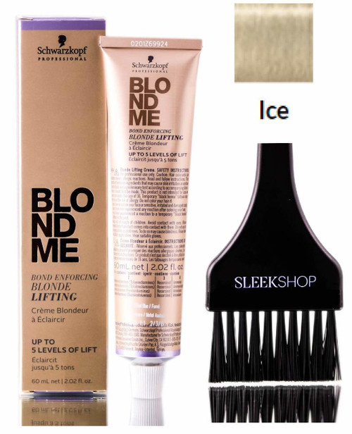 Schwarzkopf BLOND ME Bond Enforcing BLONDE LIFTING, ICE, Up to 5 Levels of Lift