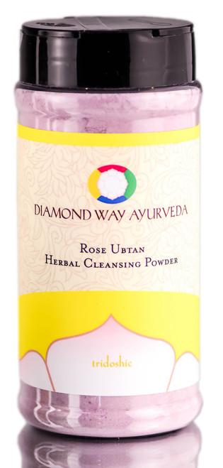 Diamond Way Ayurveda Rose Ubtan Herbal Cleansing Powder