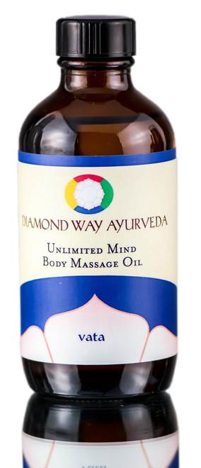 Diamond Way Ayurveda Unlimited Mind Vata Body Massage Oil