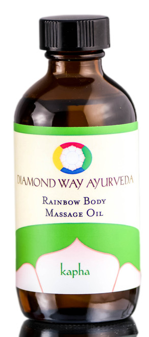 Diamond Way Ayurveda Kapha Rainbow Body Massage Oil