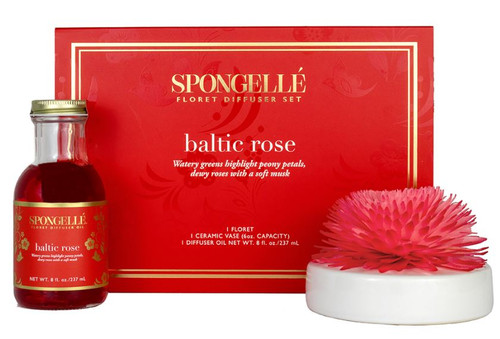 Spongelle Floret Baltic Rose Diffuser Set