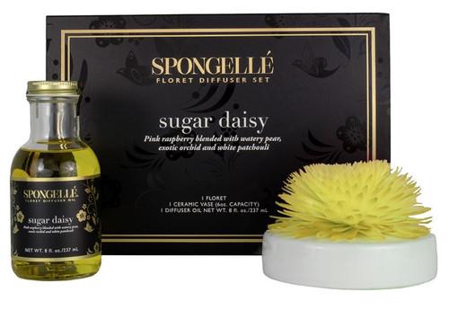 Spongelle Floret Sugar Daisy Diffuser Set