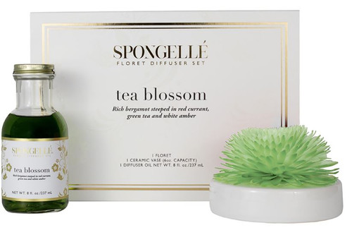 Spongelle Floret Tea Blossom Diffuser Set