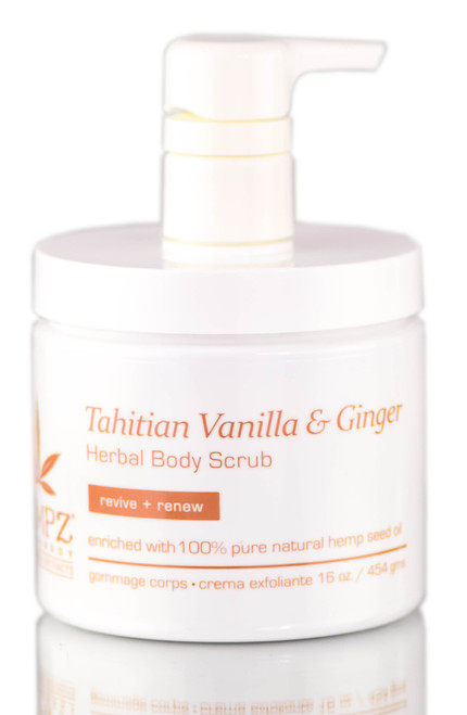 Hempz Tahitian Vanilla & Ginger Herbal Body Scrub