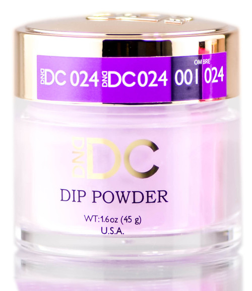 DND DC Purples DIP POWDER for Nails, Daisy Dipping