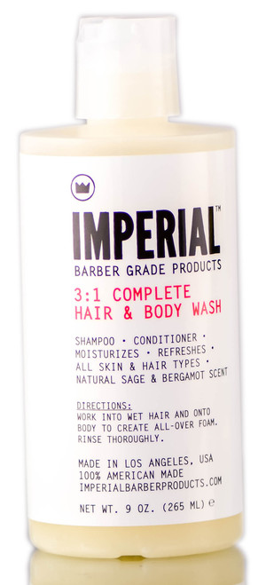 Imperial 3 in 1 Complete Hair & Body Wash