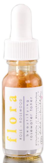 Honey Belle Flora Beautifying Rosewater Toner