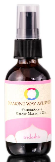 Diamond Way Ayurveda Pomegranate Breast Massage Oil