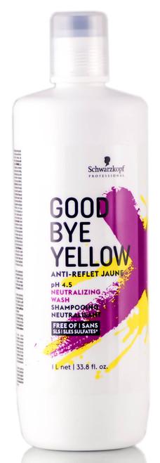 Schwarzkopf Goodbye Yellow Neutralizing Wash Shampoo