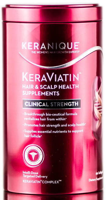 Keranique Keraviatin Hair & Scalp Health Supplements
