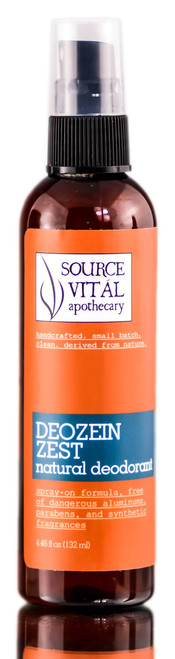 Source Vital Apothecary Deozein Zest Natural Deodorant