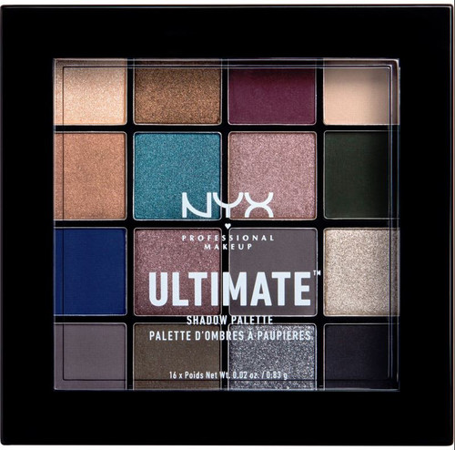 NYX Ultimate Ash Shadow Palette