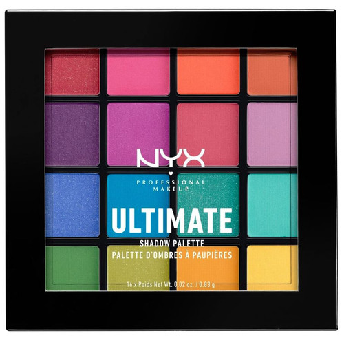 NYX Ultimate Brights Shadow Palette