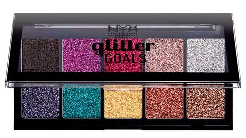 NYX Glitter Goals Cream Pro Palette