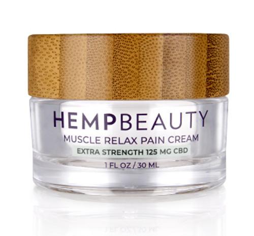 HempBeauty Extra Strength Muscle Relax Pain Cream (125 mg cbd)