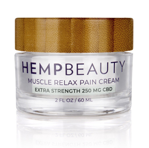 HempBeauty Extra Strength Muscle Relax Pain Cream (250 mg cbd)