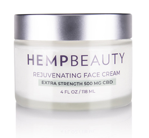 HempBeauty Extra Strength Rejuvenating Face Cream (500 mg cbd)