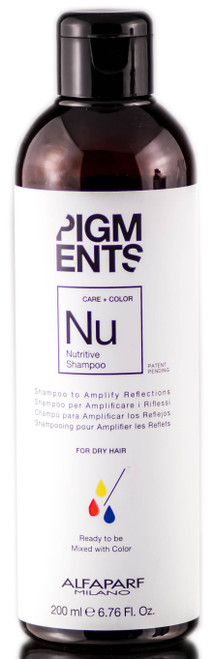 Alfaparf Milano Pigments Nutritive Shampoo For Dry Hair