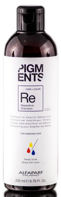 Alfaparf Milano Pigments Reparative Shampoo For Damaged Hair