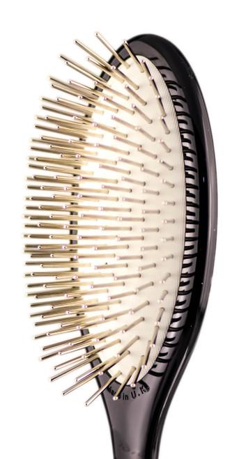 Denman Metal Pins Paddle Brush