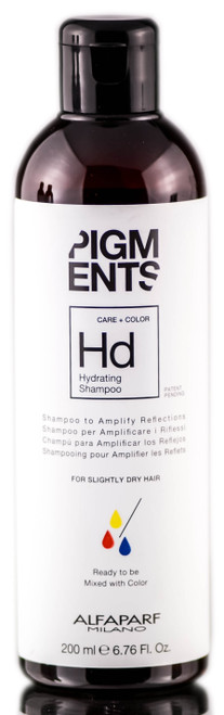Alfaparf Milano Pigments Hydrating Shampoo For Slightly Dry Hair