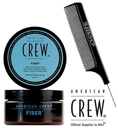 American Crew FIBER, ORIGINAL Pliable Fiber with High Hold and Low Shine w/ COMB