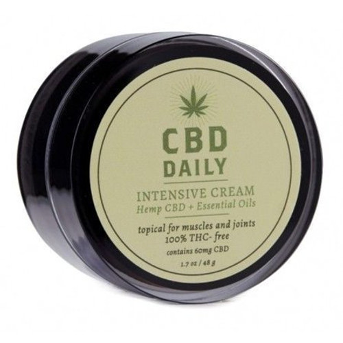 Earthly Body CBD Daily INTENSIVE Cream - 1.7 oz, PACK OF 2