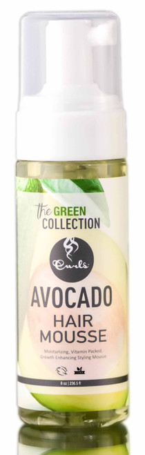 Curls The Green Collection Avocado Hair Mousse