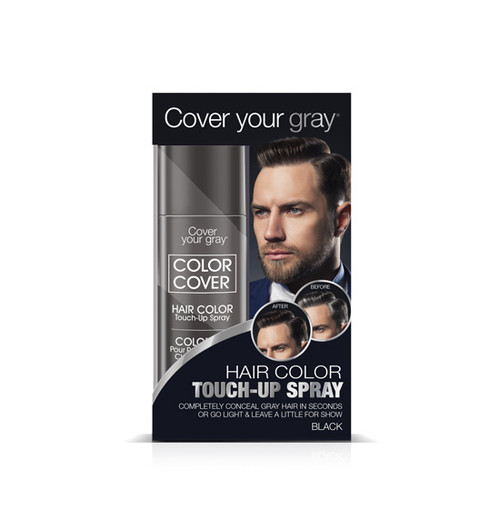 Cover Your Gray Hair Color Touch-Up Spray For Men