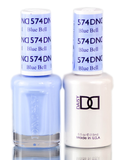 Daisy DND Blues & Greens Soak Off GEL POLISH DUO, All In One Gel Lacquer + Matching Nail Polish Color