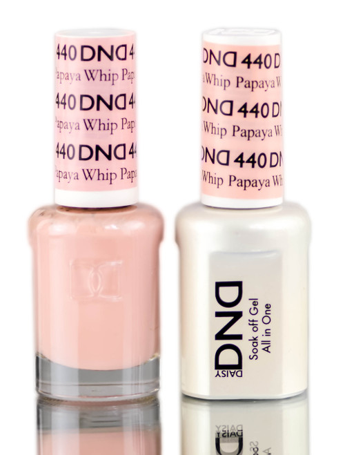 Daisy DND Neutrals Soak Off GEL POLISH DUO, All In One Gel Lacquer + Matching Nail Polish Color