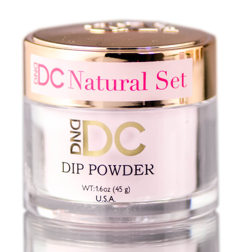DND DC Pink & White CLEAR BASE Natural DIP POWDER for Nails