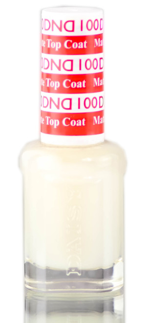 Daisy DND 100 MATTE TOP COAT for Regular Nail Lacquer Nails Polish