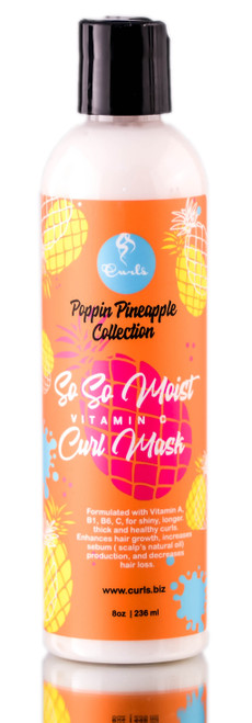 Curls Poppin Pineapple Collection So So Moist Curl Mask