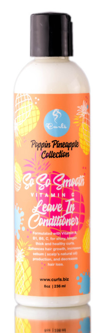 Curls Poppin Pineapple Collection So So Smooth Leave-In Conditioner