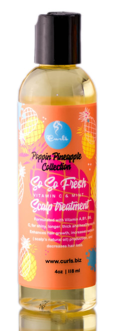 Curls Poppin Pineapple Collection So So Fresh Scalp Treatment