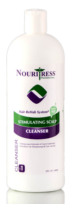 Nouritress Hair Rehab System Stimulating Scalp Cleanser