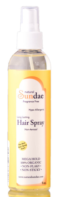 Tate's Natural Sundae Non-Aerosol Hair Spray