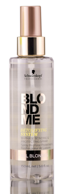 Schwarzkopf Blondeme Detoxifying Bi-Phase Bonding & Protecting Spray