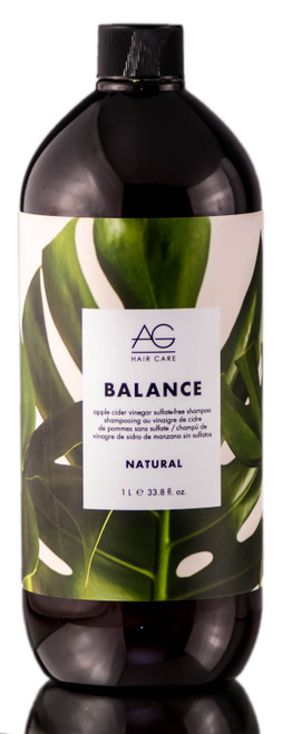 AG Hair Natural Balance Apple Cider Vinegar Sulfate-Free Shampoo