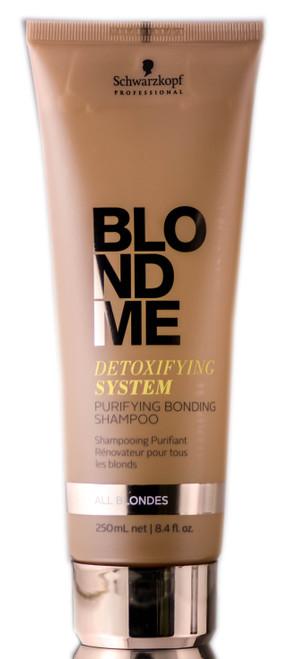 Schwarzkopf BlondeMe Detoxifying System Purifying Bonding Shampoo